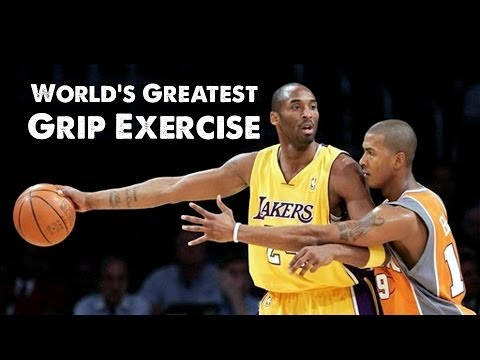 World's Greatest Grip Exercise for Basketball: Plate Pinch