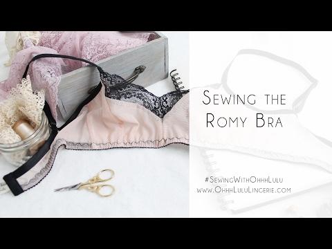 How to Sew the Romy Bra