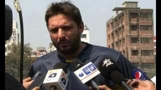 Shahid Afridi comments on Dhoni