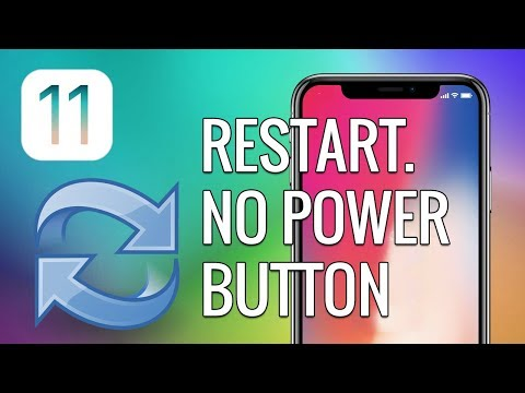 How to restart iPhone without power button in iOS 11