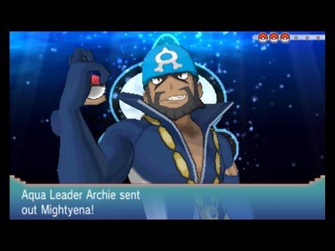 Pokemon Alpha Sapphire Challenge Run: Part 24 - Pirate Battle on Mt Chimney! Vs Archie!
