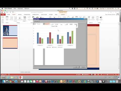 Insert an Excel Stacked Bar Chart in PowerPoint 2013