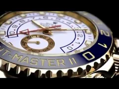 THE $15,000 ROLEX YACHT MASTER II WHITE MENS WATCH