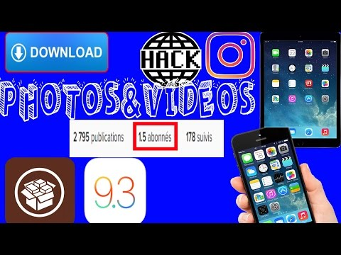 HACK INSTAGRAM GET 1 MILLION FOLLOWERS AND SAVE IMAGES&VIDEOS CYDIA ON IOS 9.3 (INSTAGRAM ++)