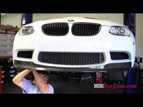 Arkym Aerosport Carbon Fiber Front Lip Spoiler on E9X M3 available at ModBargains
