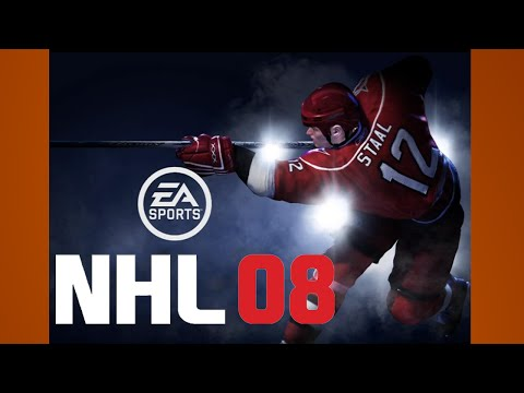 NHL 08 Gameplay Leafs Flames PS3 {1080p 60fps}