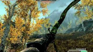 Skyrim Gameplay - Archer versus Elder Dragon