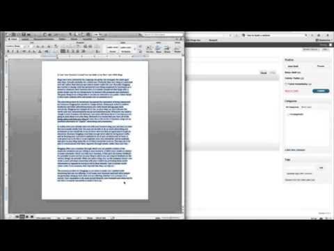 How To Setup A Blog - How Do I Create My Own Blog