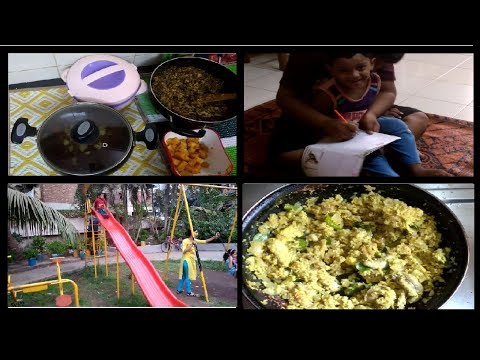 Kerala Woman Lunch Routine and Kids Play Vlog / No - 15