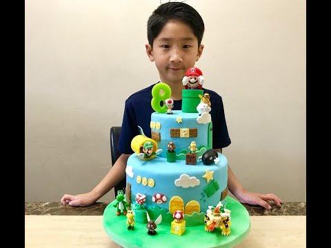 Joshua's birthday ~ Super Mario Bros cake