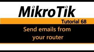 SETTING SENDER EMAIL IN MIKROTIK - PakVim net HD Vdieos Portal