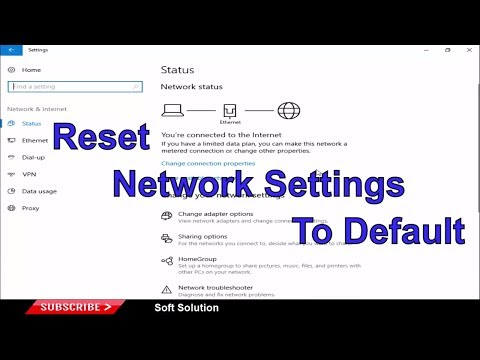 3 Method to Reset Network Settings to Default in Windows 10