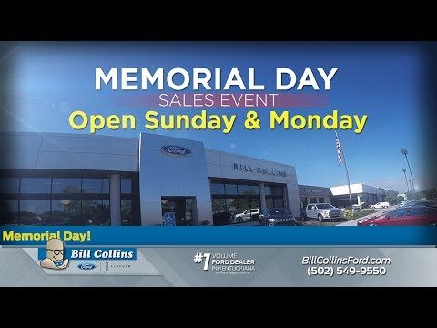 2017 Memorial Day Ford Sales Event | Bill Collins Ford
