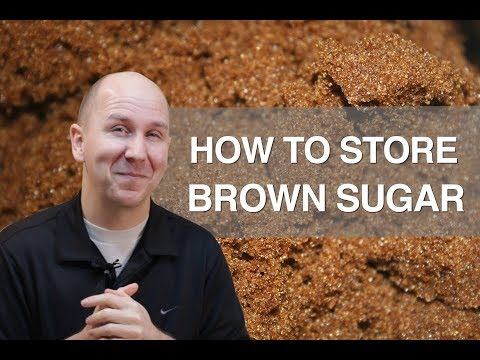 How to store Brown Sugar Properly | Talking Food vlog episode 8