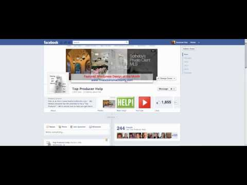 Facebook Business Page Image Sizes and Positioning Tutorial