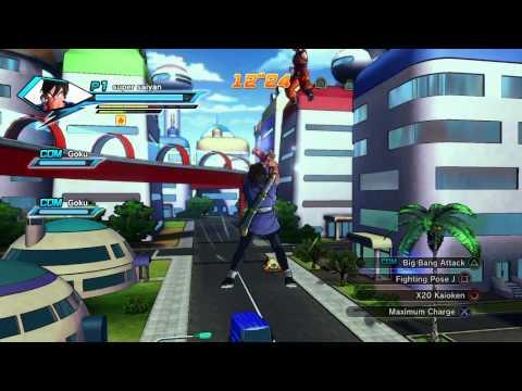 DRAGON BALL XENOVERSE how to unlock skill crasher volcano and skill mach kick
