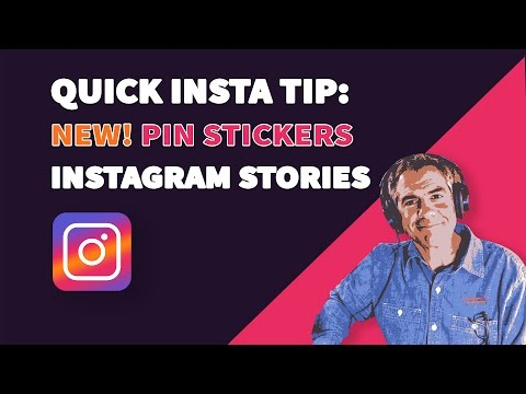 How To Pin Stickers in Instagram Stories