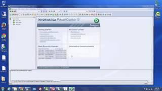 Beginners Informatica Powercenter 9x ETL tool overview tutorial 1