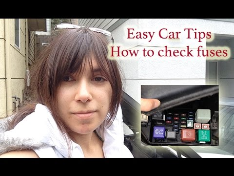 How to check your car's fuses (Toyota Avalon) 2/3