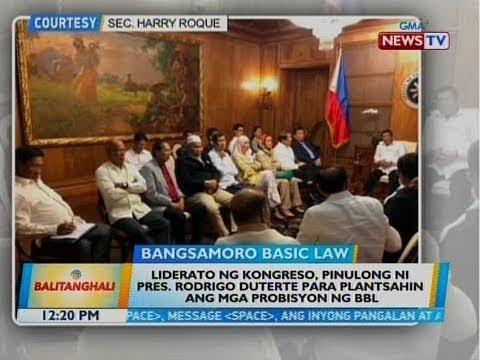 BT: Kongreso, papaspasan na ang pagpasa ng kani-kanilang bersyon ng BBL