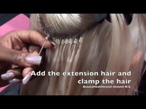 How to apply and remove Hair Extensions: Individual