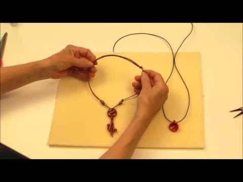 How to Make a Sliding Knot for Beaded Jewelry