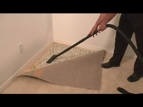 How to Dry Carpet Padding After a Leak : Carpet Cleaning Tips