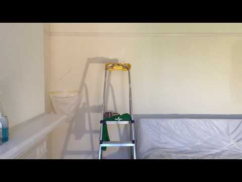 Bedroom painting part 2