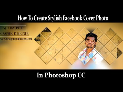 How To Create Stylish Facebook Cover Photo In Photoshop CC