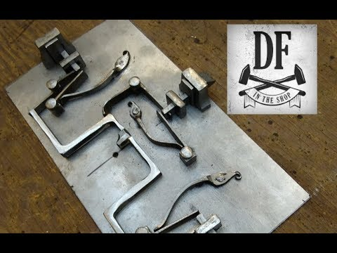 Blacksmithing Project - A Simple Nuremberg Box 13