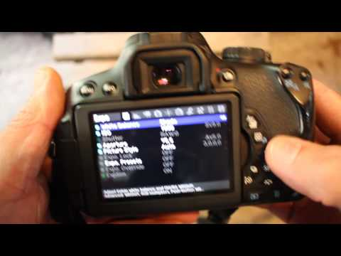 How To Check Shutter Actuations Canon Rebel T4i 650D Magic Lantern