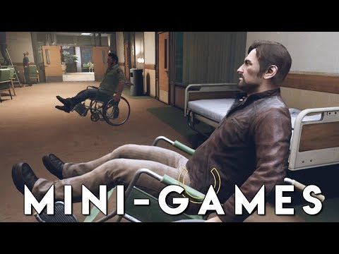 A WAY OUT *MINI-GAME CHALLENGE* Walkthrough Gameplay (PS4 Pro)