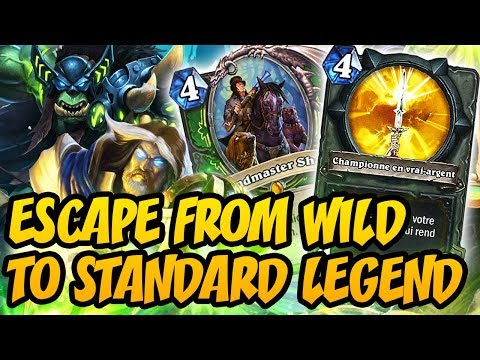 Hearthstone: Escape From Wild To Top Standard Legend