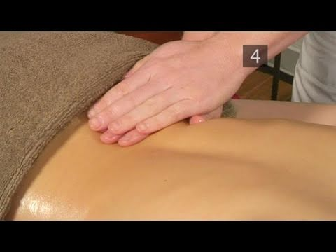 How To Get Rid Of Back Pain With Massage
