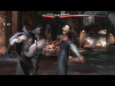 Injustice DLC Costumes - Blackest Night Batman vs Earth 2 Flash