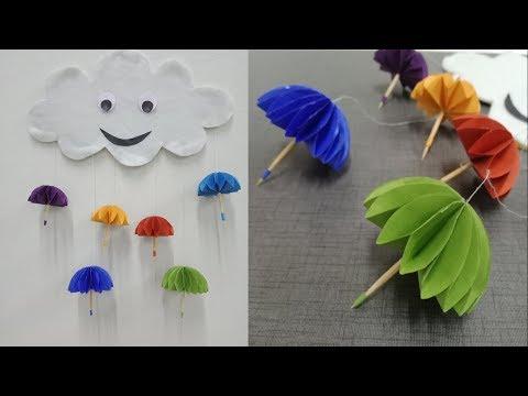 Download Paper Umbrella Wall Hanging Diy Easy Paper Crafts