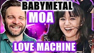 Reacting to BABYMETAL | MOA - LOVE MACHINE Live! | GODDESS! 😱🦊