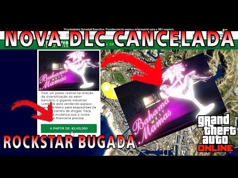 Rockstar BUGADA?  NOVA Atualização (DLC) do GTA 5 ONLINE cancelada !!!