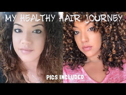 CURLY HAIR: Save Curls from HEAT DAMAGE & CHEMICAL DAMAGE