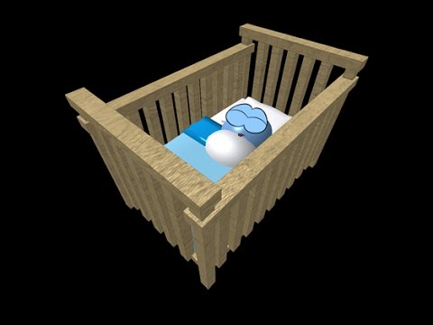How to put a meep in a crib