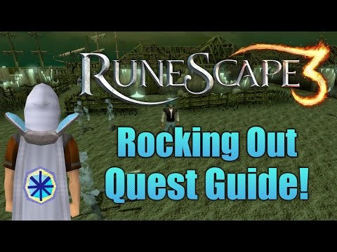 Runescape 3: Rocking Out Quest Guide!