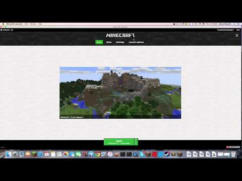 How to edit your Minecraft Update with New Launcher!