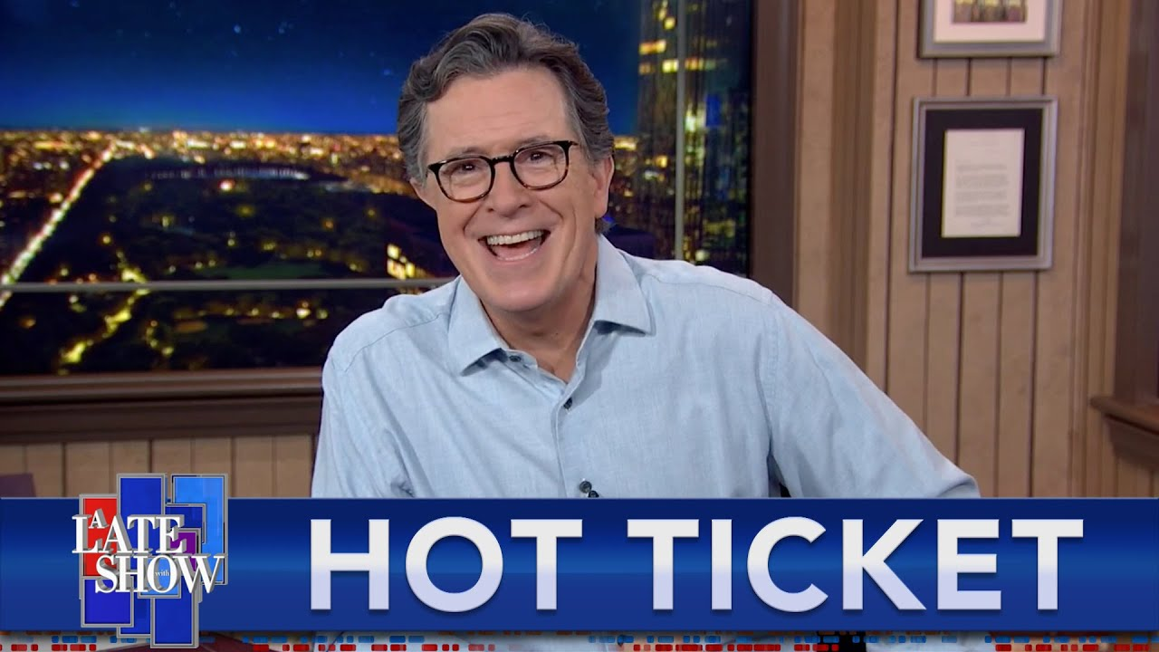 There's No Stopping Stephen Colbert! THE Late Show Returns With Full Audiences On June 14th