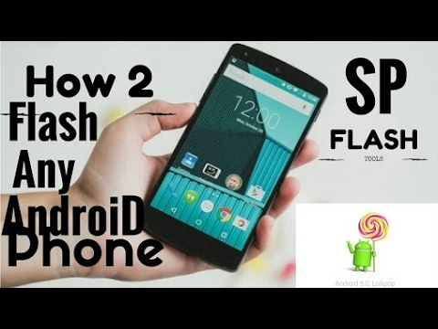How Update Software Any Android Mobile Using SP Flash