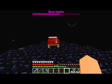 Killing The Ender Dragon WITH BEDS??? (HD)