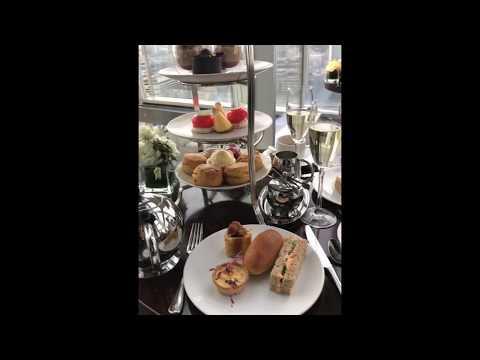 Aqua Shard Champagne Afternoon Tea in London