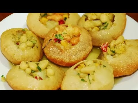 Pani Puri Recipe | सूजी गोल गप्पे और चटपटा पानी  | Golpgappa Pani | Puchka Recipe