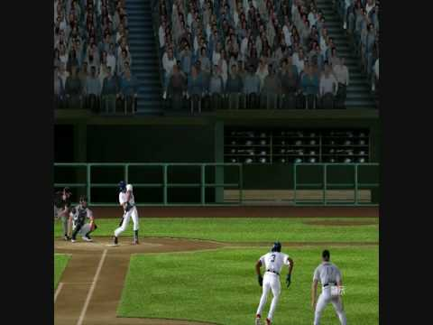 MVP Baseball 2005 Lyle Overbay Heads Up Play.wmv