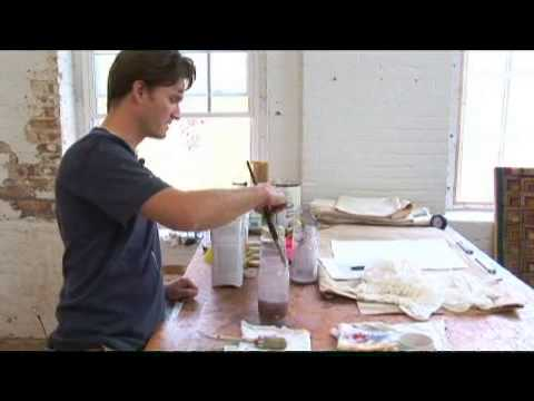 Expressionist Portrait Painting: Cleaning Brushes