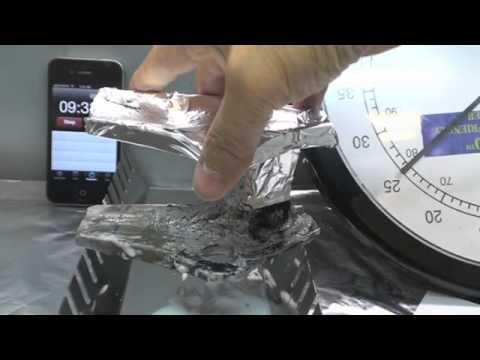 stripping powder coat paint off magnesium part 1.m4v